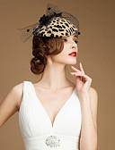 זול שמלות נשף-אבני חן וקריסטל / צמר / טול מפגשים / כובעים / אביזר לשיער עם קריסטל 1 חתונה / אירוע מיוחד / מסיבה\אירוע ערב כיסוי ראש