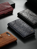 povoljno Maske za mobitele-Θήκη Za Apple iPhone XS / iPhone X Novčanik / Utor za kartice / sa stalkom Korice Jednobojni Tvrdo PU koža