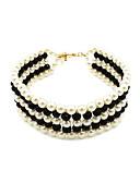 levne Trendy šperky-dámská evropská perleťová lišta