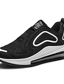 cheap Girls' Sweet Dresses-Men's Comfort Shoes Mesh Spring &  Fall Casual Athletic Shoes Breathable Gray / Black and White / Red