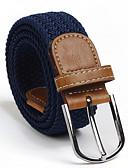 cheap Men's Belt-Unisex Basic Waist Belt - Solid Colored