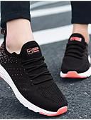 cheap Men's Belt-Women's Tissage Volant Summer Athletic Shoes Running Shoes Flat Heel Black / Gray / Blue