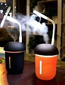 halpa Quartz-200 ml auton ilmanpuhdistin monitoiminen 3 in 1 usb lataus vesimittari tuuletin 7 väri johti yövalon sieni kosteutta