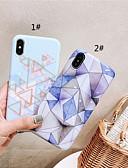 halpa iPhone kotelot-Etui Käyttötarkoitus Apple iPhone XS / iPhone XR / iPhone XS Max IMD / Himmeä / Kuvio Takakuori Marble Pehmeä TPU