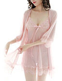 halpa Robes & Sleepwear-Naisten Hameet - Yhtenäinen Rusetti Punastuvan vaaleanpunainen Beesi Purppura Yksi koko / Olkaimellinen / Super Sexy