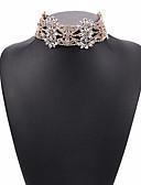 levne Trendy šperky-dámský evropský / módní slitina / drahokam náhrdelník