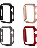 levne Pouzdro Smartwatch-Carcasă Pro Apple Apple Watch Series 4 / Apple Watch Series 4/3/2/1 / Apple Watch Series 3 Plastický Apple