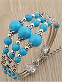 halpa Trendikkäät korut-Naisten Muoti / Värikäs Bracelet - Color Block