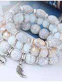 halpa Trendikkäät korut-Naisten Yksinkertainen / Etninen Bracelet - Color Block