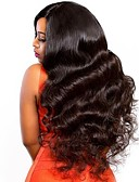 cheap Robes & Sleepwear-Human Hair Lace Front Wig style Brazilian Hair Body Wave Wig 250% Density with Baby Hair Natural Hairline African American Wig For Black Women With Bleached Knots Women's Long Human Hair Lace Wig