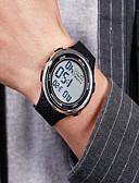 ราคาถูก เสื้อเชิ้ตผู้ชาย-สำหรับผู้ชาย นาฬิกาแนวสปอร์ต ดิจิตอล ดำ กันน้ำ ปฏิทิน โครโนกราฟ ดิจิตอล ภายนอก - ฟ้า สีทอง+สีดำ Black / Rose Gold / noctilucent