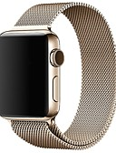 זול להקות Smartwatch-צפו בנד ל Apple Watch Series 4/3/2/1 Apple לולאה בסגנון מילאנו מתכת אל חלד רצועת יד לספורט