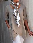 olcso Női kezeslábasok és overállok-Női Póló - Egyszínű Fehér XXXL