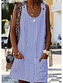 povoljno Ženske haljine-Žene Shift Haljina Na vezanje oko vrata Mini