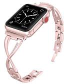 halpa iPhone kotelot-Watch Band varten Apple Watch Series 4/3/2/1 Apple Korudesign Metalli / Ruostumaton teräs Rannehihna