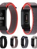 זול להקות Smartwatch-צפו בנד ל Fitbit Charge 3 פיטביט רצועת ספורט / אבזם מודרני ניילון רצועת יד לספורט