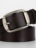 cheap Men's Belt-Men's Basic Waist Belt - Solid Colored