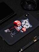 halpa iPhone kotelot-Etui Käyttötarkoitus Apple iPhone XS / iPhone XR / iPhone XS Max Himmeä / Kuvio Takakuori Kissa / Eläin Pehmeä TPU