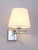 abordables Ropa Interior y Calcetines de Hombre-JSGYlights Cristal / Nuevo diseño Simple / Contemporáneo moderno Luces del brazo oscilante Sala de estar / Dormitorio Metal Luz de pared 110-120V / 220-240V 60 W