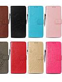 hesapli Cep Telefonu Kılıfları-Pouzdro Uyumluluk Samsung Galaxy J7 (2016) / J7 / J5 (2016) Cüzdan / Kart Tutucu / Satandlı Tam Kaplama Kılıf Kelebek Sert PU Deri