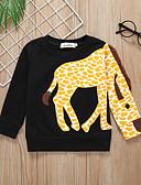 tanie Dla chłopców & Brzdąc Bluzy męskie-Dziecko Dla chłopców Aktywny / Podstawowy Kolorowy blok / Patchwork Patchwork Długi rękaw Bawełna Bluzy Czarny