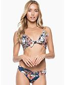 halpa Bikinis-Naisten Uima-allas Pikkutuhmat Tankini Uima-asut - Kukka Painettu S M L Uima-allas