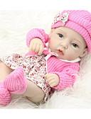 olcso Ing-FeelWind Reborn Dolls Lány babák 12 hüvelyk Teljes test szilikon - Gyermekek / Tinik Gyerek Uniszex Játékok Ajándék