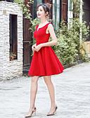 preiswerte Cocktailkleider-A-Linie V-Ausschnitt Kurz / Mini Chiffon Kleid mit durch LAN TING Express