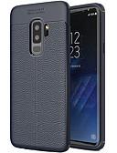 Недорогие Защитные плёнки для экрана iPhone-Кейс для Назначение SSamsung Galaxy S9 Plus Матовое Кейс на заднюю панель Однотонный Мягкий ТПУ
