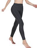 hesapli Taytlar-Kadın's Spor Legging - Solid, Desen Orta Bel Siyah Koyu Gri Gri S M L / İnce
