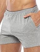 abordables Ropa interior para hombre exótica-calzoncillos de algodón de los hombres&Calzoncillos de boyhorts / Calzoncillos / Calzoncillos / Calzoncillos 1 pieza media cintura