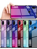 povoljno Maske za mobitele-Θήκη Za Xiaomi Xiaomi Redmi Note 5 Pro / Xiaomi Redmi 6 Pro / Xiaomi Redmi Note 7 Otporno na trešnju Stražnja maska Prijelaz boje Tvrdo TPU / Kaljeno staklo