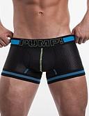 abordables Ropa interior para hombre exótica-calzoncillos de hombre ropa interior 1 pieza media cintura