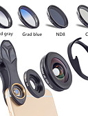 halpa Studiovalaistus-Matkapuhelin Lens Suodatin-objektiivi / Laajakulmaobjektiivi / Makro-objektiivi lasi / Alumiiniseos 10X makro 40 mm 0.16 m 110 ° Luova / Uusi malli / Tyylikäs