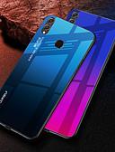 halpa Puhelimen kuoret-Etui Käyttötarkoitus Huawei Huawei Note 10 / Huawei Honor 10 / Honor V20 Iskunkestävä Takakuori Color Gradient Kova TPU / Karkaistu lasi
