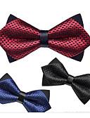 abordables Corbatas y Pajaritas para Hombre-Hombre Pajarita - Fiesta / Básico Un Color
