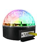 hesapli Erkek Kazakları ve Hırkaları-1set Disko Topu Lambası Renkli AC napájení Bluetooth / Uzaktan kumandalı / Atmosfer Lambası 100-240 V