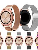 זול להקות Smartwatch-צפו בנד ל Samsung Galaxy Watch 42 Samsung Galaxy רצועת ספורט / לולאה בסגנון מילאנו מתכת אל חלד רצועת יד לספורט