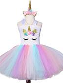 halpa Tyttöjen mekot-mesh casual kukka polven pituus prinsessa lapset joulu uusi vuosi bow tutu mekko kulumista