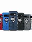 halpa Puhelimen kuoret-Etui Käyttötarkoitus Samsung Galaxy S9 / S9 Plus / S8 Plus Iskunkestävä / Sormuksen pidike Suojakuori Panssari Kova TPU / PC