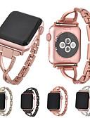 abordables Bandas de reloj inteligente-Ver Banda para Apple Watch Series 4/3/2/1 Apple Hebilla Moderna Metal Correa de Muñeca