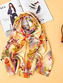 voordelige Dameshoeden-Dames Standaard Bloemen Rechthoekige sjaal -