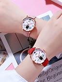 זול שעונים קוורץ-בגדי ריקוד נשים קווארץ יום יומי אופנתי שחור כחול אדום TPU Chinese קווארץ ורוד מסמיק אפור סגול עיצוב חדש שעונים יום יומיים יחידה 1 אנלוגי שנה אחת חיי סוללה