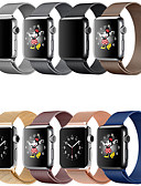 זול להקות Smartwatch-smartwatch הלהקה עבור סדרת אפל לצפות 4/3/2/1 אפל מילאנו לולאה נירוסטה רצועת היד