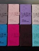 Недорогие Чехлы для телефонов-Кейс для Назначение SSamsung Galaxy A6 (2018) / A6+ (2018) / Galaxy A7(2018) Кошелек / Бумажник для карт / Флип Чехол Животное Твердый Кожа PU