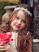 זול ילדים כובעים ומצחיות-מידה אחת כסף אביזרי שיער תחרה סגנון פרחוני פרחוני שמש פרח בסיסי / מתוק בנות פעוטות