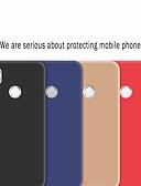 זול מגנים לטלפון-מגן עבור Huawei Huawei P30 / Huawei P30 Pro / חכמים P חכם 2019 מזוגג כיסוי אחורי אחיד רך TPU