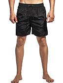 זול בגדי ים לגברים-פול L XL XXL אחיד, בגדי ים חלקים תחתונים מכנסי שחייה פול שחור אודם בסיסי בגדי ריקוד גברים