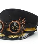 זול להקות Smartwatch-עור / פּוֹלִיאֶסטֶר / סגסוגת ביגוד לראש עם נוצות / ניטים / ריקמה חלק 1 לבוש יומיומי / בָּחוּץ כיסוי ראש