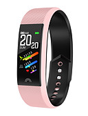 halpa Smartwatch-nauhat-kf6 smart watch bt 4.0 fitness tracker -tuki ilmoittaa & sykemittari vedenpitävä ranneke samsung / huawei / iphone